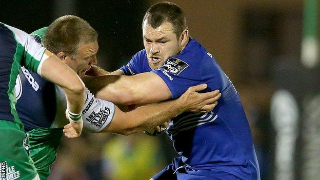 Cian Healy in action for Leinster against Connacht last weekend