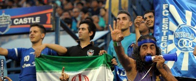 Esteghlal fans