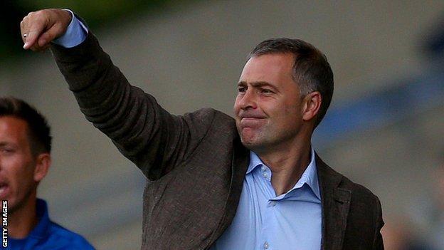 Dagenham & Redbridge manager Wayne Burnett