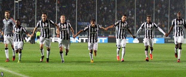 Juve celebrate