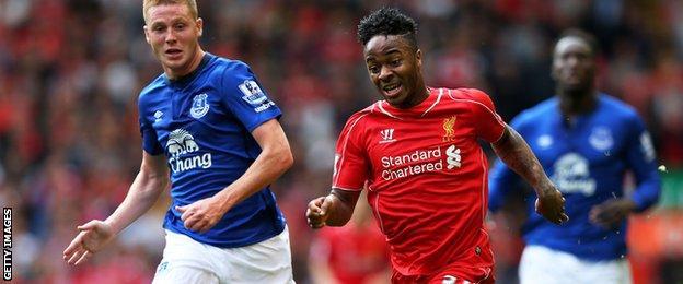 Liverpool attacker Raheem Sterling