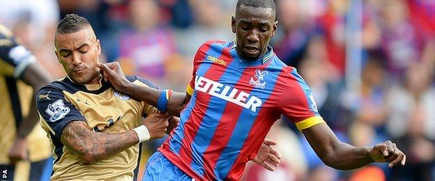 Crystal Palace's Yannick Bolasie