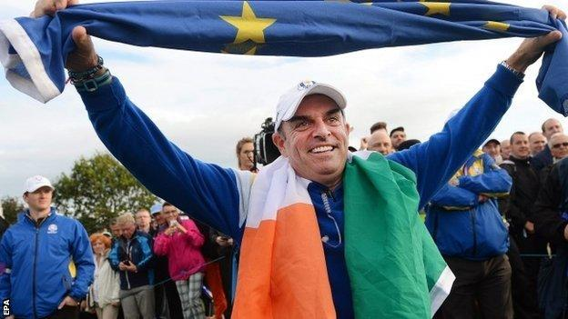 Europe Ryder Cup captain Paul McGinley