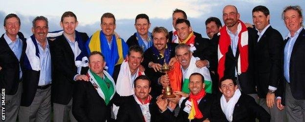 Europe team photo