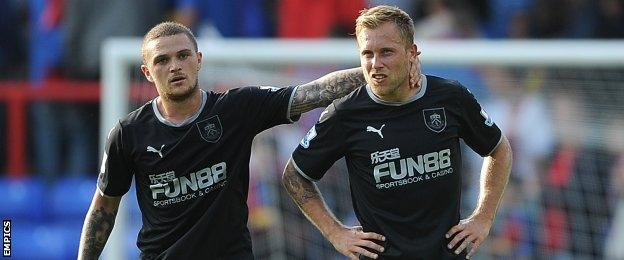 Kieran Trippier and Scott Arfield