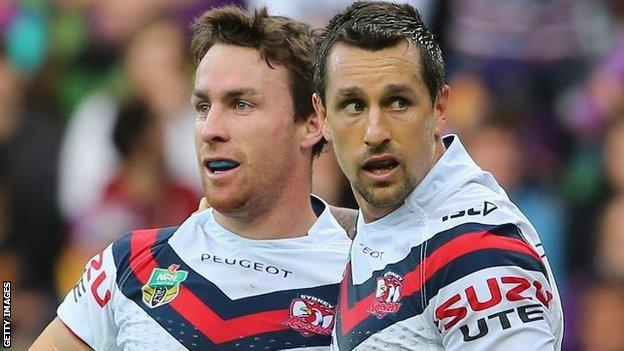 James Maloney and Mitchell Pearce