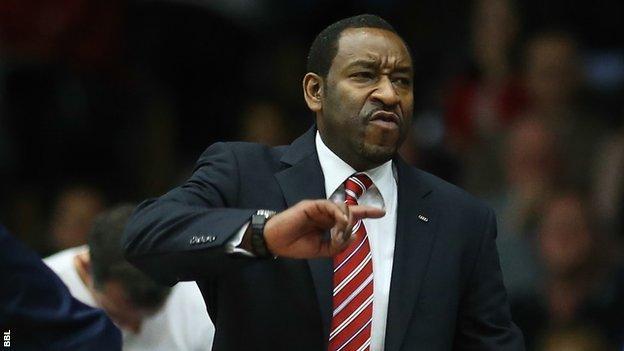 Worcester head coach Paul James