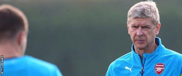 Arsene Wenger became Arsenal boss on 30 September, 1996