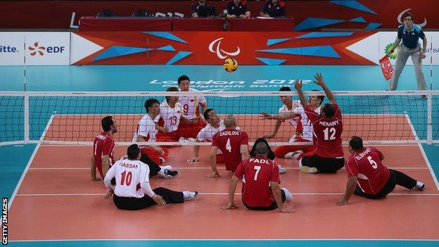Sitting Volleyball at the London Paralympics