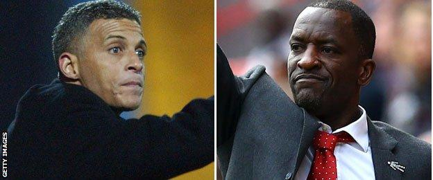 Keith Curle and Chris Powell