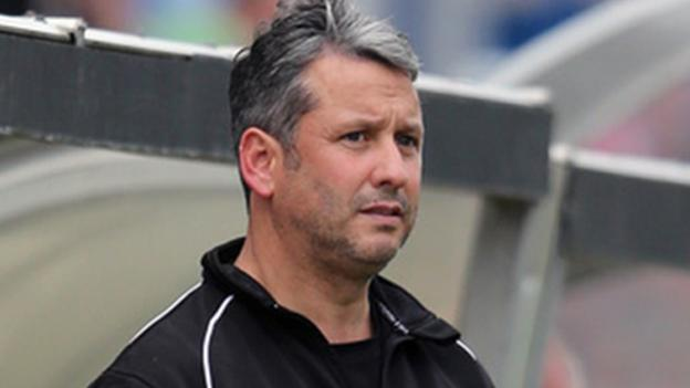 AFC Telford United manager Liam Watson