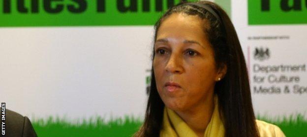 Sports Minister Helen Grant