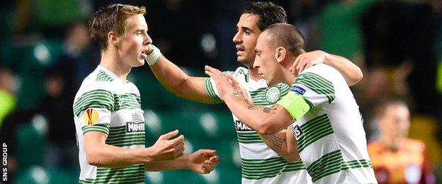 Celtic held on for a 1-0 win in Glasgow