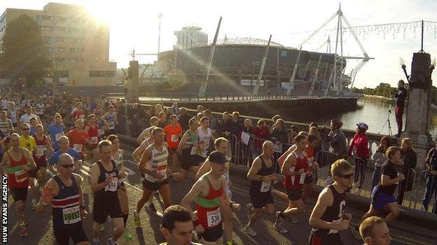 2013 Cardiff Half Marathon