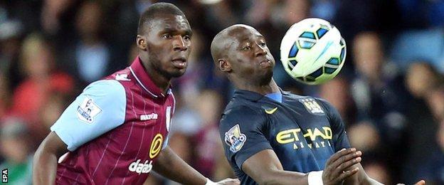 Aston Villa v Manchester City