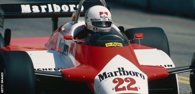 Andrea de Cesaris McLaren
