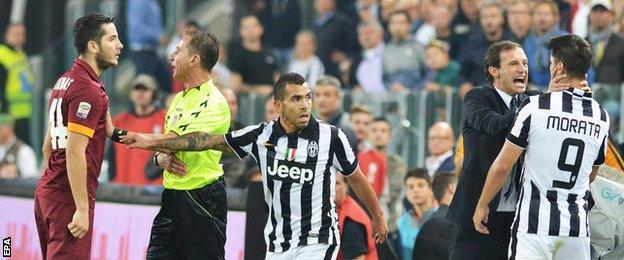 Juventus 3-2 Roma