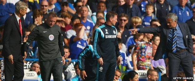 Mourinho v Wenger - a loathing that just doesn't stop