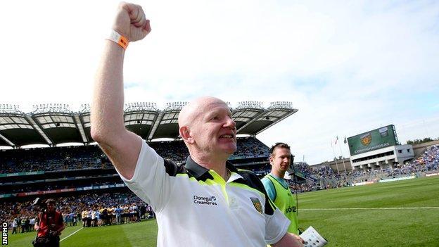 Donegal minor football boss Declan Bonner