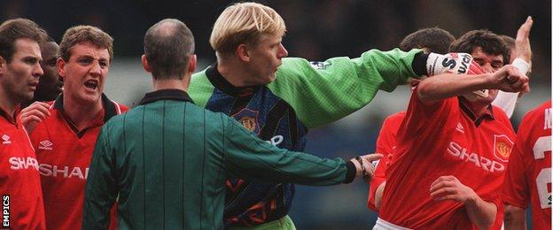 Roy Keane & Peter Schmeichel