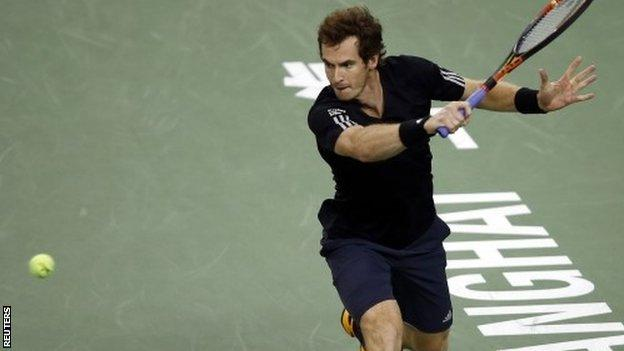 Andy Murray won in China two weeks ago