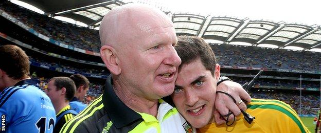 Declan Bonner after guiding Donegal to this year's All-Ireland Minor Final