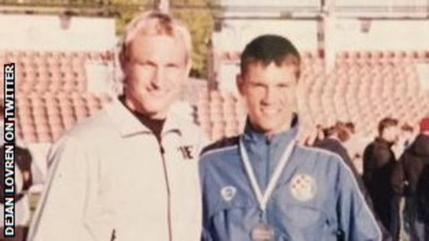 Dejan Lovren (right) and Sami Hyypia