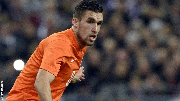 Netherlands and Roma midfielder Kevin Strootman