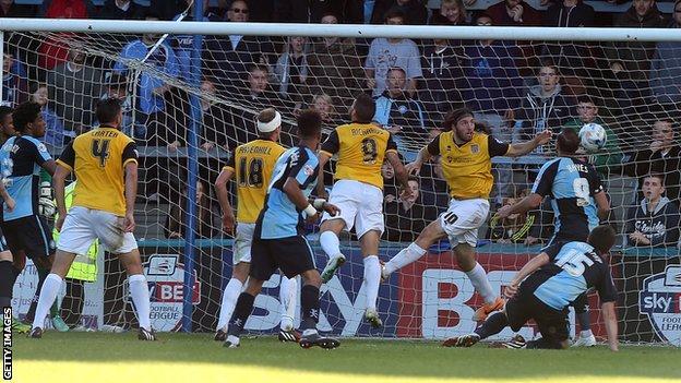 Aaron Holloway goal