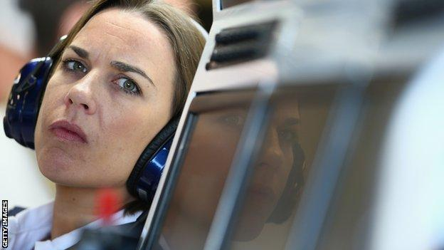 Williams deputy team principal Claire Williams says driver safety is paramount