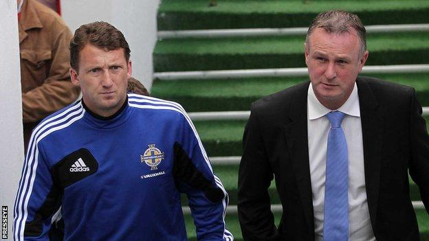 Michael O'Neill and Billy McKinlay
