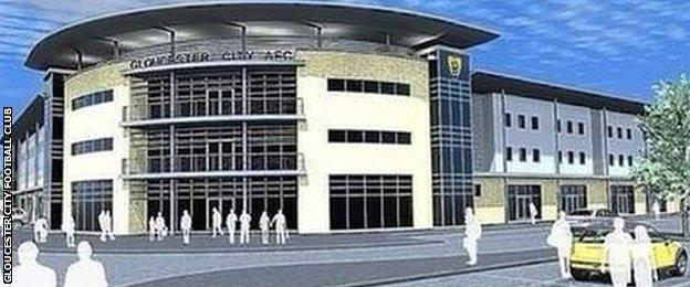 Image for new GCFC stadium