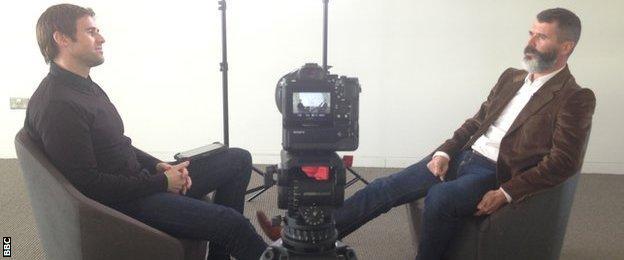 Kevin Kilbane & Roy Keane