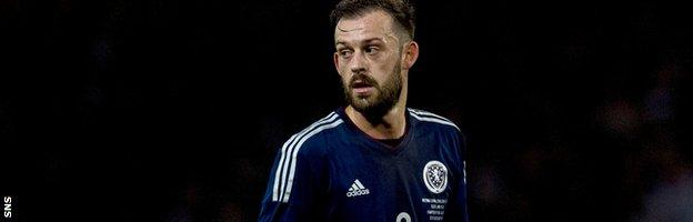 Scotland forward Steven Fletcher
