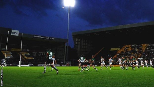 Rugby at Meadow Lane