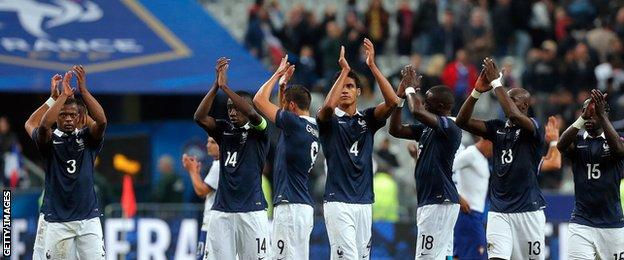 France beat Portugal 2-1 in a friendly