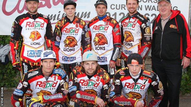 Leicester Lions team 2014