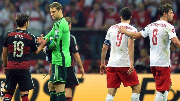 Poland 2-0 Germany