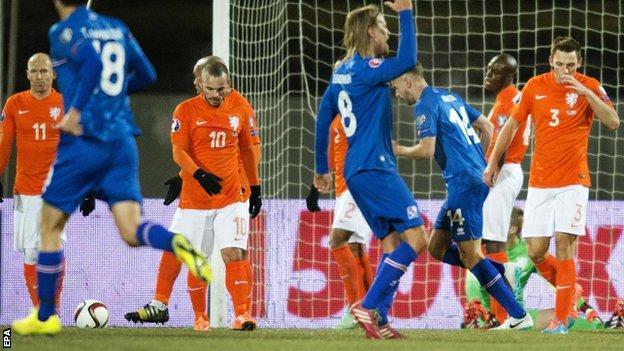 Iceland v Netherlands