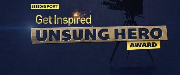 Get Inspired Unsung Hero Logo