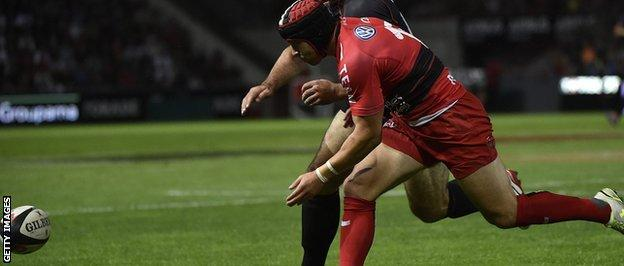 Leigh Halfpenny on his Toulon debut