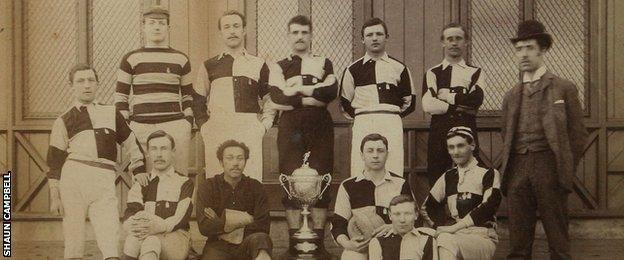 Arthur Wharton played as an amateur for Darlington