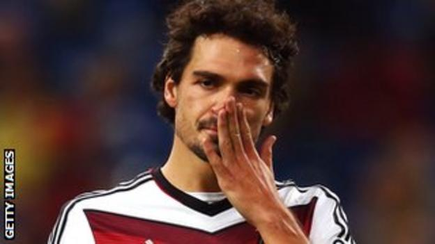 Germany international Mats Hummels
