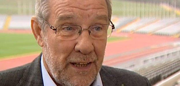Former sports minister and ex-Labour MP for Sheffield Central Richard Caborn