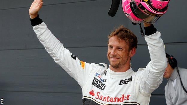 Jenson Button's future at McLaren is uncertain