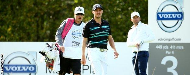 Jonas Blixt and Paul Casey