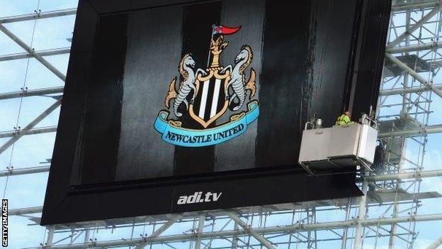Newcastle big screen