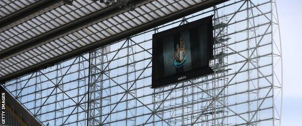 Newcastle screen