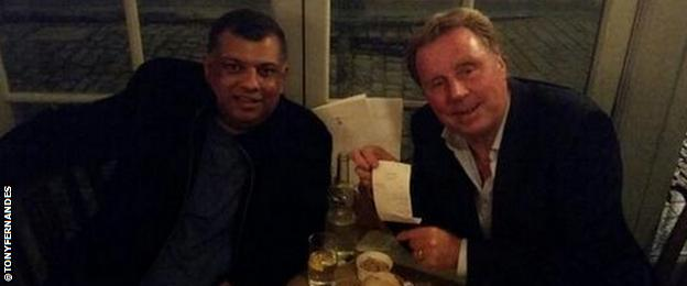 Tony Fernandes and Harry Redknapp
