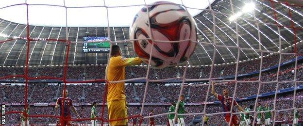 Bayern goal